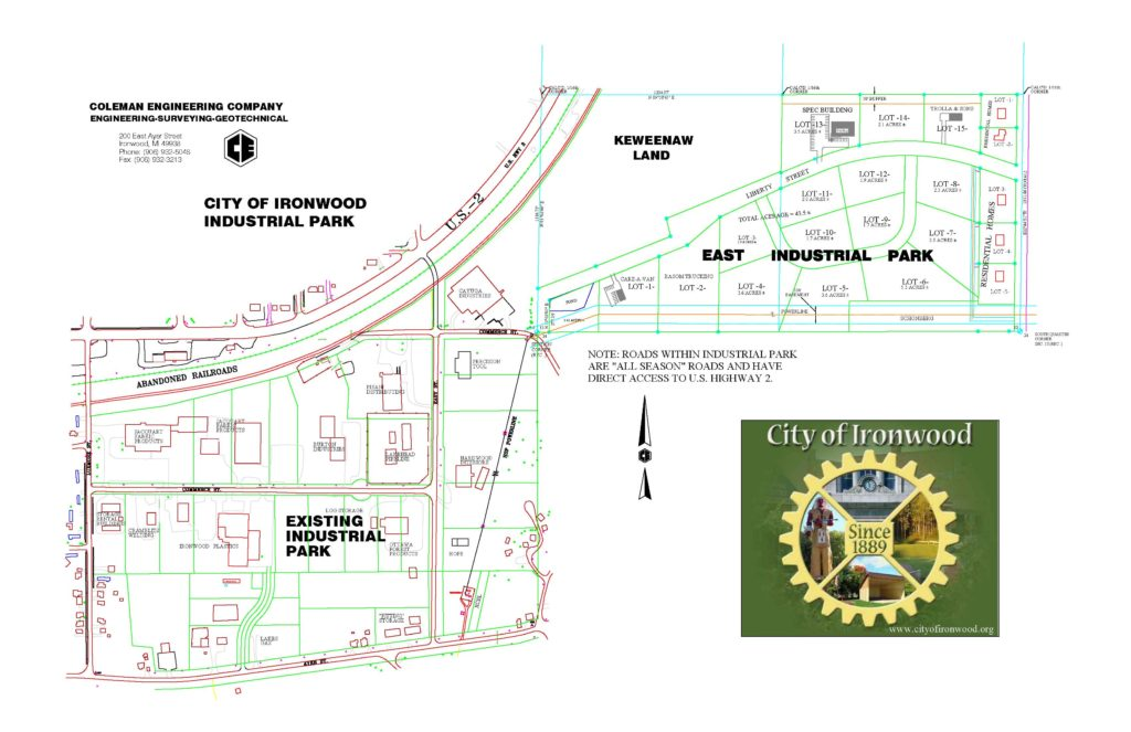 IIDC - Industrial Park Map