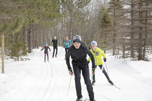 Ironwood Michigan Nordic Ski