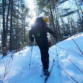 Ironwood Michigan Cross-Country Ski