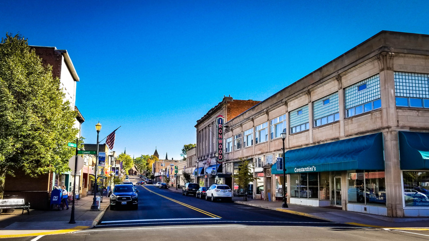 Downtown Ironwood Michigan